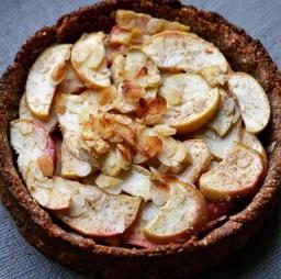 An apple tart